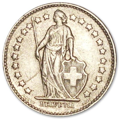 Svájci frank érmék